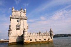 belem de torre Royaltyfria Bilder