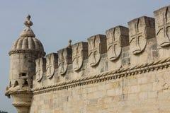 belem de torre Royaltyfri Bild