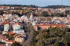 Belem District in Lisbon Royalty Free Stock Images
