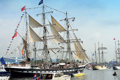 The Belem from France 7101 Royalty Free Stock Images