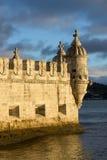 Belem-Kontrollturm, Lissabon, Portugal Lizenzfreie Stockfotos