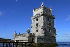 Belem-Kontrollturm in Lissabon, Portugal Lizenzfreie Stockfotos