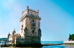 belem lisbon portugal torn Arkivfoton