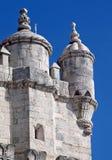 belem lisbon torn Royaltyfri Fotografi