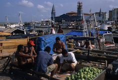 BELEM - marché de peso de Ver o Photo libre de droits