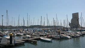 Belem marina Stock Images