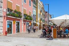 The Belem McDonalds fast-food restaurant in Lisbon Stock Image