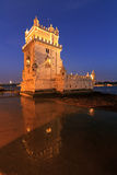 Belem at night Royalty Free Stock Image