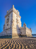 belem Portugal Lizbońskiej tower Obraz Royalty Free