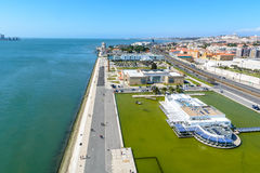 Belem region in Lisbon, Portugal Royalty Free Stock Image