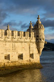 Belem står hög, Lisbon, Portugal Royaltyfria Foton