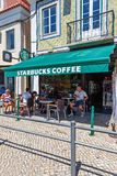 The Belem Starbucks Coffee coffeehouse Royalty Free Stock Photos