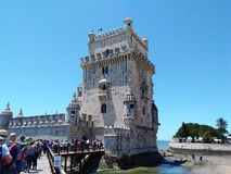 belem torn royaltyfri bild