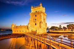 Belem torn av Lissabon Royaltyfri Bild