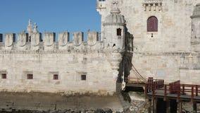 belem torn lisbon portugal lager videofilmer