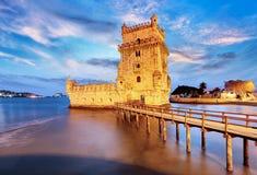 Belem torn, Lissabon, Porugal Royaltyfri Bild