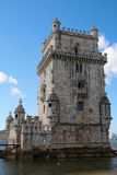 Belem Tower. The ancient Belem Tower, in Lisbon, Portugal Stock Images