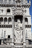 Belem Tower Details Royalty Free Stock Photography