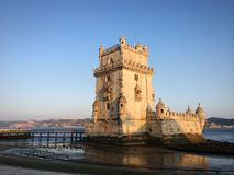 Belem tower Royalty Free Stock Image