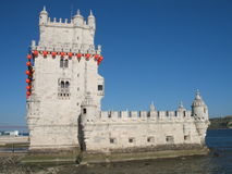 Belem tower. The famous Belem  tower in Lisbon, Portugal Stock Photo