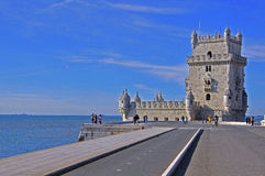 Belem tower. In Libson, Portugal Stock Images