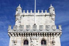 Belem Tower in Lisbon Stock Image