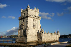 Belem Tower in Lisbon, Portugal Royalty Free Stock Photos