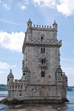 Belem Tower in Lisbon, Portugal. Belem Tower or the Tower of St Vincent. A fortified tower located in the Belem district of Lisbon, Portugal. UNESCO World Stock Photos