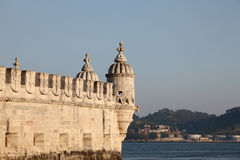 Belem tower in Lisbon, Portugal Royalty Free Stock Images