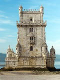 Belem tower in Lisbon (Portugal) Royalty Free Stock Photo
