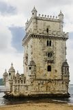 Belem Tower in Lisbon, Portugal Stock Photo