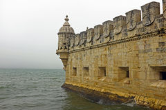 Belem tower in Lisbon Portugal. Belem tower in Lisbon in Portugal Stock Photography