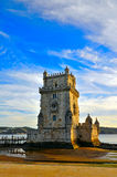 Belem tower. In Lisbon, Portugal Stock Images