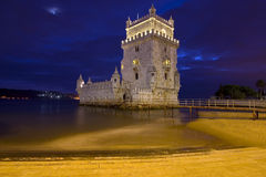 Belem Tower - Lisbon. The Belem Tower in Lisbon, Portugal Royalty Free Stock Photography
