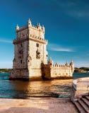 Belem Tower in Lisbon Stock Photo