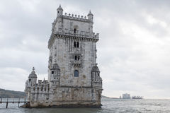 Belem tower in Lisbon Stock Photography