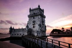 Belem Tower, Lisbon, Portugal Stock Images