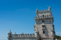 Belem Tower in Lisbon  Portugal Stock Photos