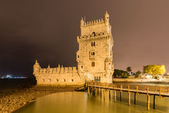 Belem Tower - Lisbon, Portugal Royalty Free Stock Images