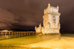 Belem Tower - Lisbon, Portugal Royalty Free Stock Photos