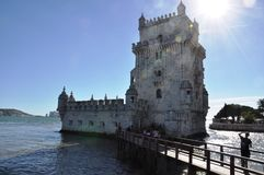 Belem Tower, Lisbon, Portugal. The Belem Tower is the important tower in Lisbon Royalty Free Stock Photography