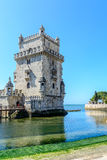 Belem tower in Lisbon, Portugal royalty free stock image