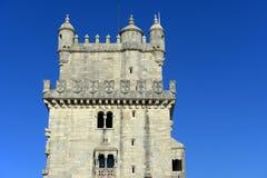 Belem Tower, Lisbon, Portugal stock images