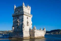 Belem Tower in Lisbon, Portugal. Royalty Free Stock Photos