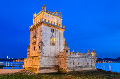 Belem Tower, Lisbon Royalty Free Stock Photos