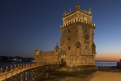 Belem Tower - Lisbon - Portugal. stock image