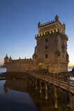 Belem Tower - Lisbon - Portugal stock photo