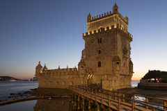 Belem Tower - Lisbon - Portugal Royalty Free Stock Photos