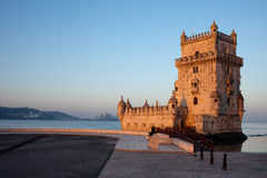 Belem Tower in Lisbon Stock Photos