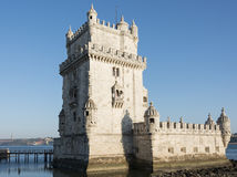 Belem tower Lisbon Royalty Free Stock Images